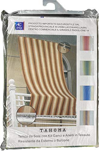 Eurostyle - Toldo de color liso para exterior de balcón