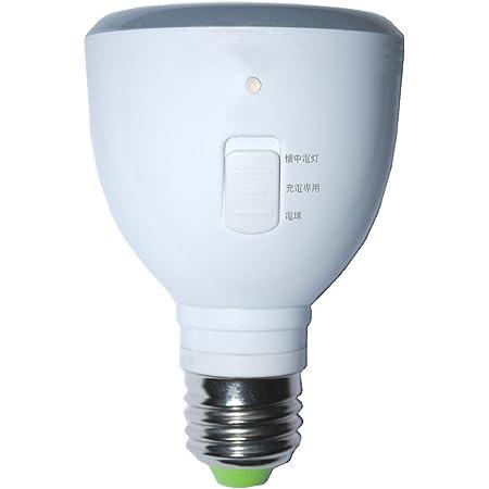 ラブロス 省電力LED電球(充電式バッテリー内臓) 「マジックバルブ(Magic Bulb)」(E26口金・一般電球形・白熱電球40W相当・280ルーメン・昼白色相当) MB5W-B