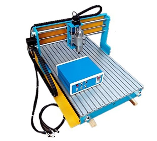 GOWE CNC grabado enrutador máquina con 1,5kW VFD Water Cooled Spindle