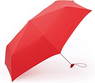 Household Umbrellas Business Casual Umbrella for Men and Women Rain and Rain Folding Umbrellas Available in Four Colors HYBKY (Color : Red)