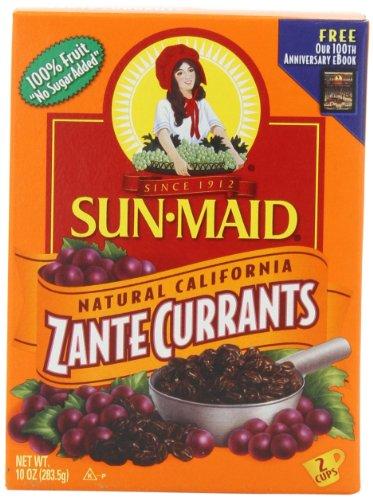Sun Maid California Zante Currants, 10-Ounce Boxes (Pack of 6)