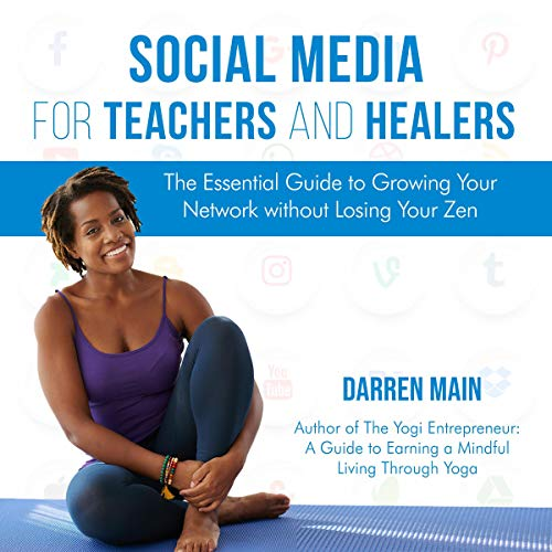 Social Media for Teachers and Healers audiobook cover art