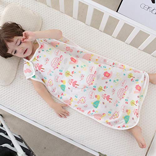 Saco De Dormir Para Bebé 6-18 Meses Gasa Fina De