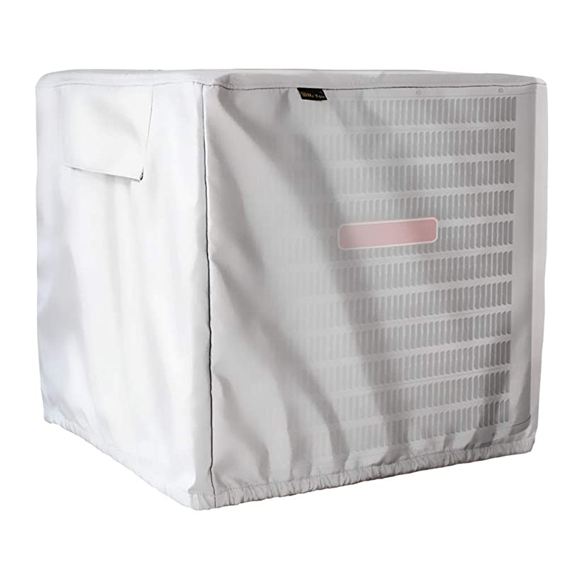 Mr.You Winter Air Conditioner Cover - AC Cover Outdoor Protection - Heavy Duty Waterproof All Weather Protection(D34inH30inW34in,Oxford Fabric)
