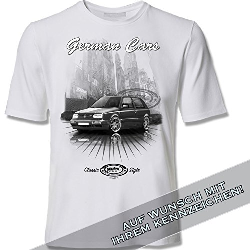 youtex  Golf 3 GTI Black and White T Shirt (M)