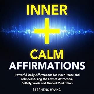 Inner Calm Affirmations audiobook cover art