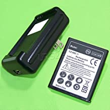 [Samsung Galaxy Admire R820 Combo Pack] 3600mAh Extra Standard Replacement Battery Travel Desktop Wall USB Charger for Samsung Galaxy Admire 4G SCH-R820 MetroPCS Phone