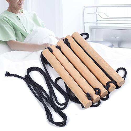 Ayuda de la escalera de la cama, escalera de la cama mayor de la seguridad, madera fácil para el paciente mayor