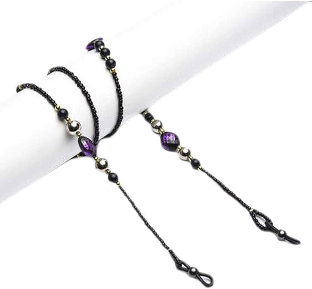 Eyeglass Chain Bead Eyeglass Retainer Sunglasses Chain Sunglasses Cord Holder-A04