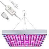 Osunby LED Grow Light 45W UV IR Growing Lamp + 300W Timer Switch with 6.6Ft Power Extension Cord 24Hr Cycle Auto On/Off