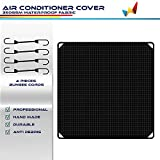 Windscreen4less Winter Air Conditioner Top Cover for Outdoor AC Unit Cover for Outside Keep Leaves Snow Rain Out Waterproof Winter Fall AC Cover 36'' X 36''