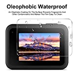 EZCO Screen Protector Compatible with GoPro Hero 8, [3 Sets/9Pcs] Waterproof Ultra Clear Tempered Glass Screen Protector… 10 Screen Protector for GoPro Hero 8: These screen protectors glass are designed for GoPro Hero 8 Camera Black. The package come with 3 pcs tempered glass screen protector, 3 pcs tempered glass lens screen protector, 3 pcs small protective film; 3 set cleaning kits, 1 x installation guide. 9H Hardness: The GoPro Hero 8 Black screen protector tempered glass felt sturdy and made out of good quality materials. It is shatterproof and hard so it doesn't scratch easily. Tempered glass is thick enough to protect your investment from the scratches and bumps of everyday life. Ultra Clear & No Bubbles: This tempered glass is bright, incomparable light transmission up to 99.99%. The highly transparent surface of the protection film for GoPro Hero 8 Black can clearly display the color of the lens and allows the rich colors of the screen.
