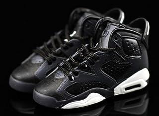 802818f08b40f4 Air Jordan VI 6 Retro Cool Grey Black OG Sneakers Shoes 3D Keychain Figure …