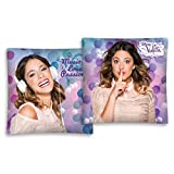 Disney Violetta - Funda de cojín morado