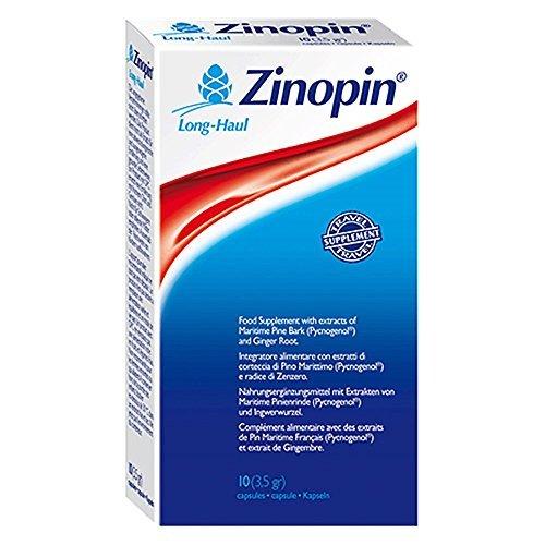 Zinopin Long Haul - Vein Support - 10 Capsules