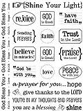 SRM Stickers 51015 Sticker Sentiment Faith