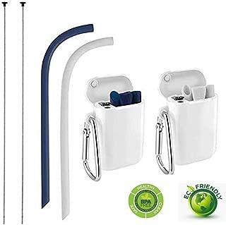 Best adjustable reusable straws Reviews