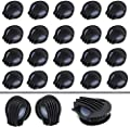 30 PCS Breathing Filter Valves Anti Pollution Face Cover Mouth Filter Accessories for Air Breathing(Black) by SENBAO