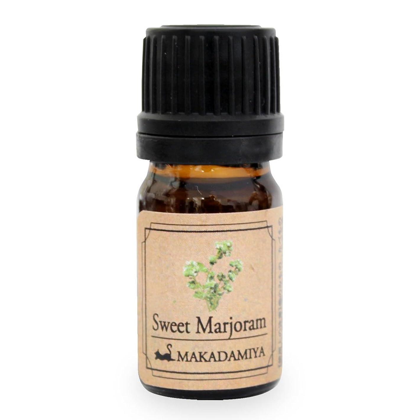 ミケランジェロ農業の瞑想するスイートマージョラム5ml 天然100%植物性 エッセンシャルオイル(精油) アロマオイル アロママッサージ aroma Sweet Ma.