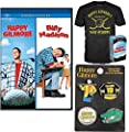 Tap it in! Golf Comedy Happy Gilmore DVD & Quote Academy Tee Shirt (Large) + Enamel Pin Set & Billy Madison Adam Sandler