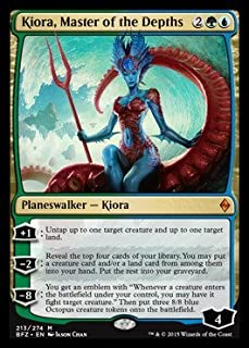 Magic: the Gathering - Kiora, Master of the Depths (213/274) - Battle for Zendikar