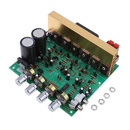 IPOTCH Mini Módulo Esté del Tablero Amplificador De Audio del Poder Más Elevado De La Mini HiFi 200W 2.1