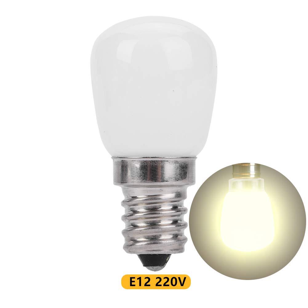 Riuty Bombilla FrigoríFica Led,200Lm E12 LáMpara De IluminacióN De Bajo Consumo para FrigoríFico Horno Microondas Ventilador De Cocina (Warm White 220v): Amazon.es: Hogar