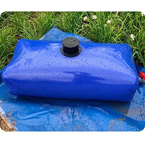 GDMING Tanque De Agua De Transporte De Cubos, Prueba De Fugas Recipiente De Agua Plegable, Exterior Portátil Bolsa De Almacenamiento De Agua Resistente Al Clima PVC Tela, Personalizable