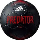 adidas(アディダス) サッカーボール プレデター ハイブリッド ブラック 5号 一般・大学・高校・中学生用 検定球 AF5667BK