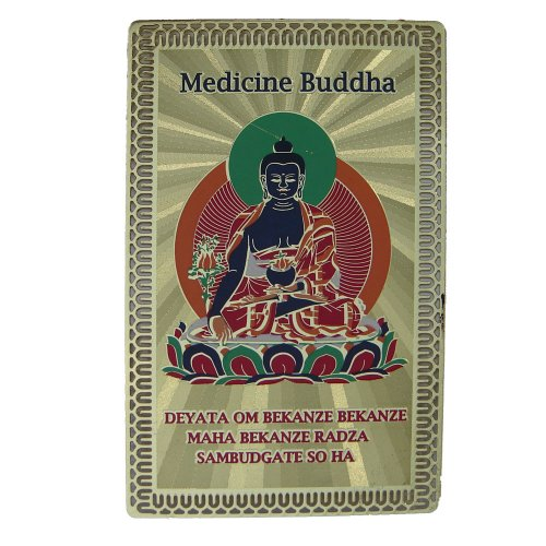 Feng Shui importación Medicina Buda Salud talismán Tarjeta