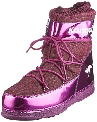 KangaROOS Unisex K-Moon Schneestiefel, Violett (Dk Berry/Frost Pink 6029), 42/43 EU