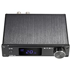 ammoon Amplifier HiFi Digital Mini Portable 3.5mm AUX Analog / USB / Coaxial / Optical Stereo Audio Energy S. M. S. L Q5 Professional with Remote Control*