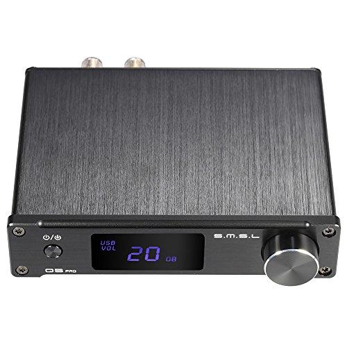 ammoon versterker HiFi Digital Mini draagbaar 3,5 mm AUX analoog/USB/coaxiaal/optische stereo audio energie S. M. S. M. L Q5 professioneel met afstandsbediening.