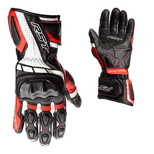 RST Handschuhe Axis dieses Leder rot Größe S Herren