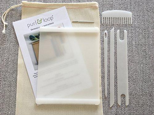 Purl & Loop Stash Blaster Acrylic Weaving Loom (10.0 + Accessories)