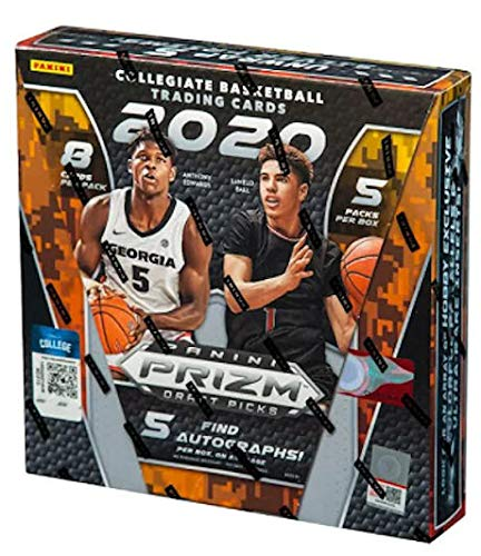 2020/21 Panini Prizm Collegiate Draft Picks Basketball HOBBY box (5 pks/bx)
