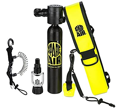 Submersible System Spare Air Model 300 Package Kit 3.0 cu ft w/Free Coil Lanyard