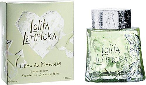 Lolita Lempicka L\'Eau Au Masculin 100 ml Eau de Toilette Spray für Ihn, 1er Pack (1 x 100 ml)
