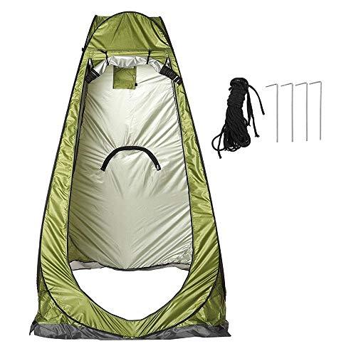 WYYH Tienda De Campaña Impermeable, Pop Up Quick Open WC Portatil Camping Protección UV Impermeable Puede Moverse Cocina Ducha Camping Tienda Refugio Al Aire Libre Guardarropa Pesca Baño Small