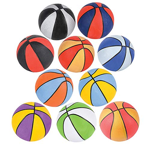 For Sale! 5 ASSORTED COLORS MICRO BASKETBALL