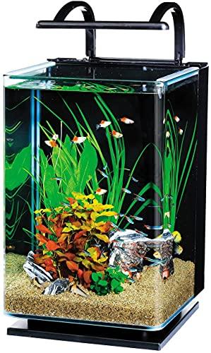 テトラ (Tetra) リビングキューブ 20 オールインワン水槽 淡水・海水用 (容量 約20L) 水槽 アクアリウム 熱帯魚 メダカ 金魚