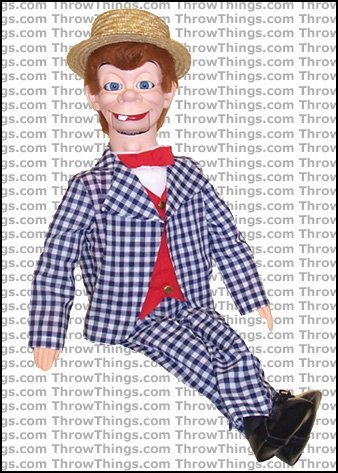 ThrowThings.com Mortimer Snerd Deluxe Upgrade Ventriloquist Dummy