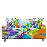 WXQY Funda de sofá elástica Aurora Sun Moon Funda de sofá de...