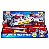 Paw Patrol - 6043989 - Jeu enfant - Camion de Pompiers Ultimate Rescue - La Pat' Patrouille