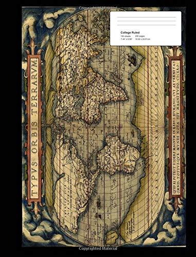 Miquelrius 14873 Chemise /à rabats Carte du monde