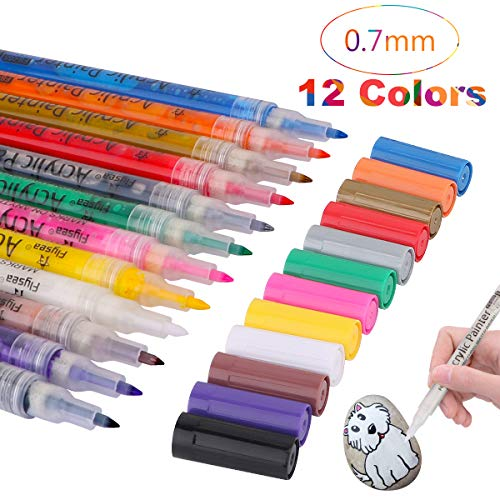 Acrylic Paint Pen, Water Based Graffiti Paint...