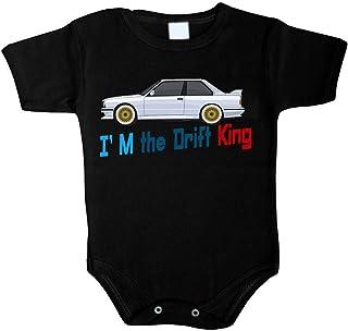 Unbekannt Baby Body I am Drift King Fastest Car Auto Babykleidung Strampler Unterwäsche Best Weihnacht Geschenk