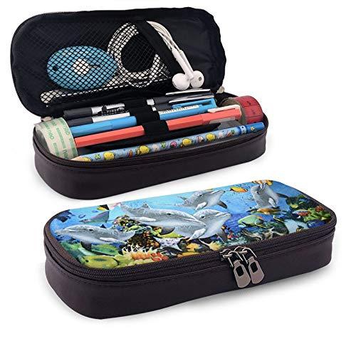 Estuche de gran capacidad para lápices con múltiples compartimentos para niños y niñas, toalla de baño de playa