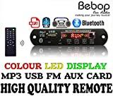 Bebop Bluetooth FM USB AUX Card MP3 Stereo Wireless TF Radio Audio Video