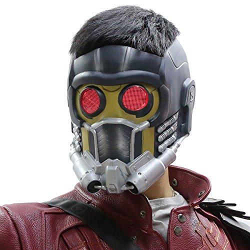 Xcoser - Máscara para adultos (PVC, incluye gafas brillantes), diseño de Guardianes de la Galaxia